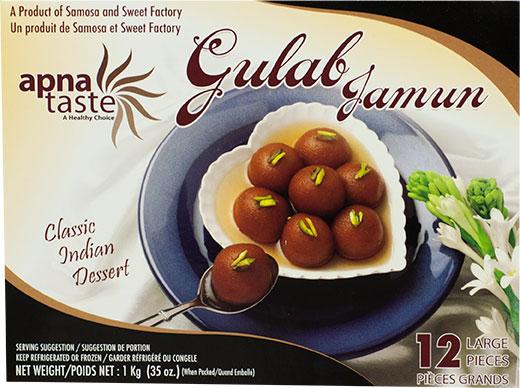 Apna Taste Gulab Jamun Indian Dessert
