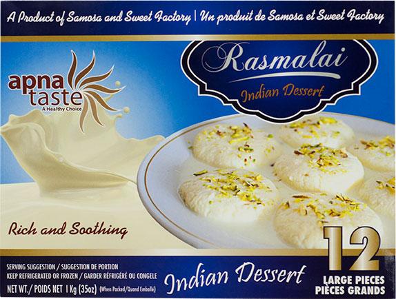 Apna Taste Rasmalai Indian Dessert